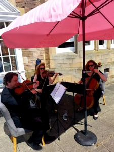 As a String Trio at Inglewood House & Spa, Alloa